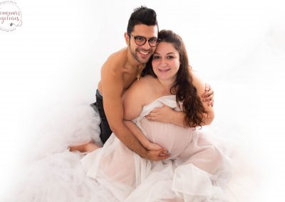Couple femme enceinte Alpes Maritimes