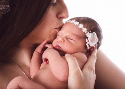 Photo mère bébé près de Grasse