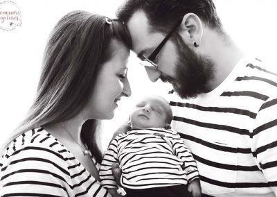 Photo famille marinière