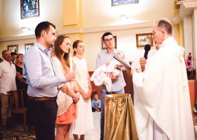 Photo baptême couleur