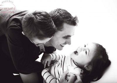 Photographie père enfants